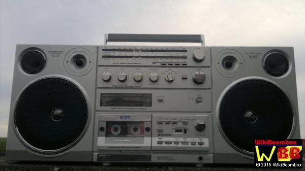 Vintage philips d8614 ghettoblaster 1982 1 owner fully tested ebay - Philips ghetto blaster ...